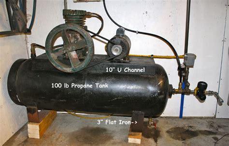 100 lb propane tank air compressor all