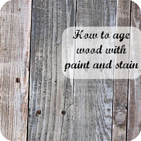 Holz Lackieren Auf Alt by How To Age Wood With Paint And Stain Simply Swider