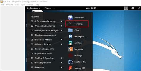 kali linux terminal tutorial kali linux installation and configuration solutionrider
