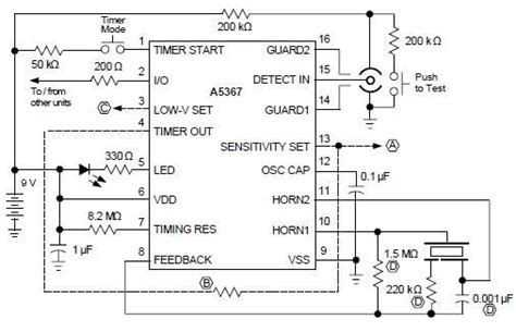 smoke detector circuit diagram pdf ionization smoke detector circuit using a5367 b2b