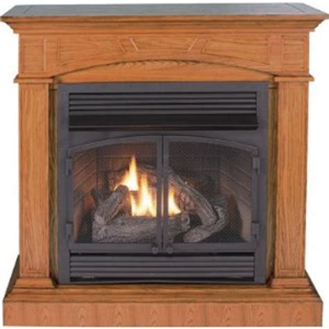 vent free fireplace reviews procom compact vent free dual fuel fireplace review