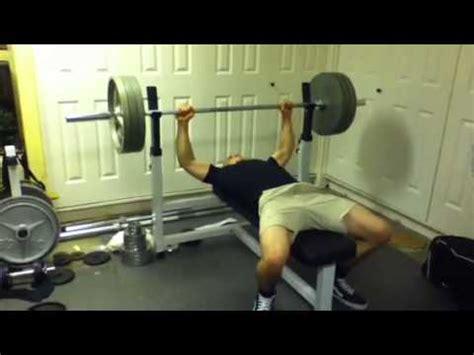 315 bench press 150lb bodyweight bench press 315 youtube