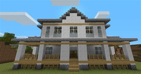 minecraft country house country home minecraft project