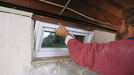 how to put in basement windows high performance windows