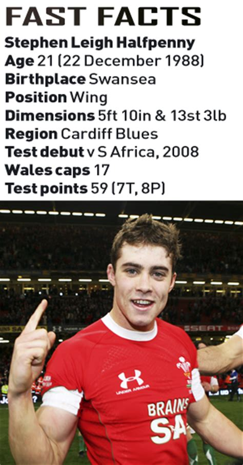 leigh halfpenny cardiff blues  wales rugby world