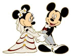mickey amp minnie wedding clipart
