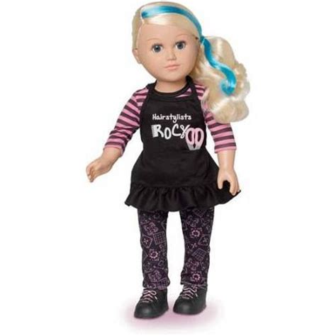 american baby dolls at walmart my as 18 quot hair stylist doll caucasian