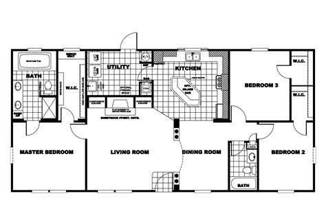 manufactured home floor plan 2010 clayton cumberland