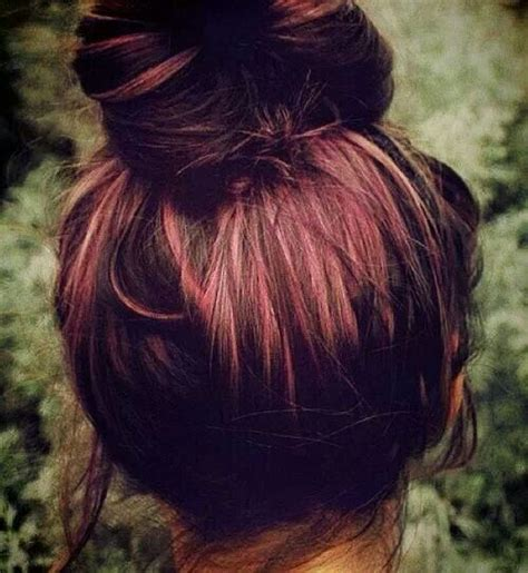 Red Lowlights | red lowlights hairstyles pinterest