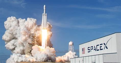 elon musk rocket launch spacex s falcon heavy launch gives big boost to elon musk