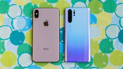 iphone xs max vs huawei p30 pro which is best cnet