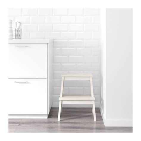 sgabello scaletta ikea bekv 196 m step stool white 50 cm ikea