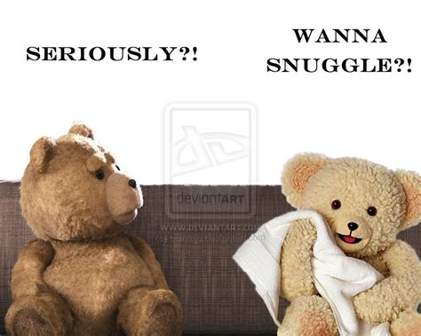 Snuggle On The by Ted Vs Snuggle By Quintajo On Deviantart