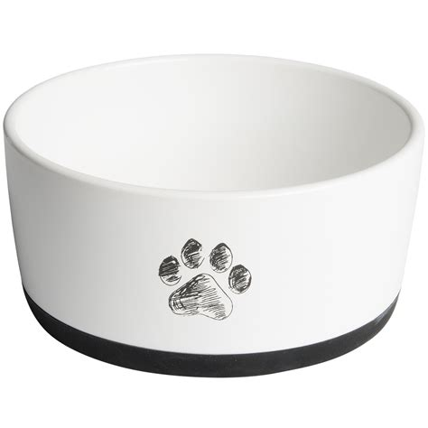 puppy bowl dogs azzure ceramic bowl save 25