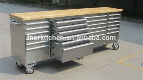 tool chest work bench heavy duty stainless steel workbench tool chest 96 inch tool chest workbench with