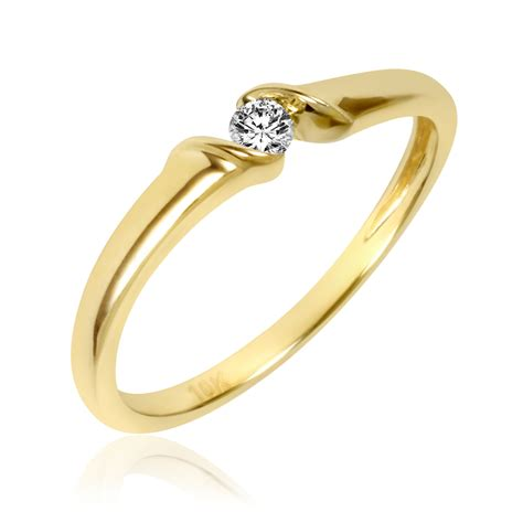 gold promise rings for wedding promise