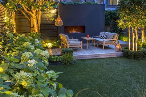 outdoor fireplace garden designs garden club london