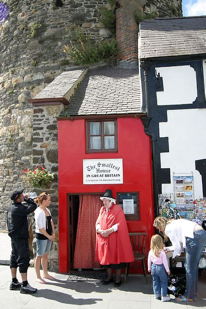 smallest house in britain the smallest house in britain photo picture image conwy conwy uk