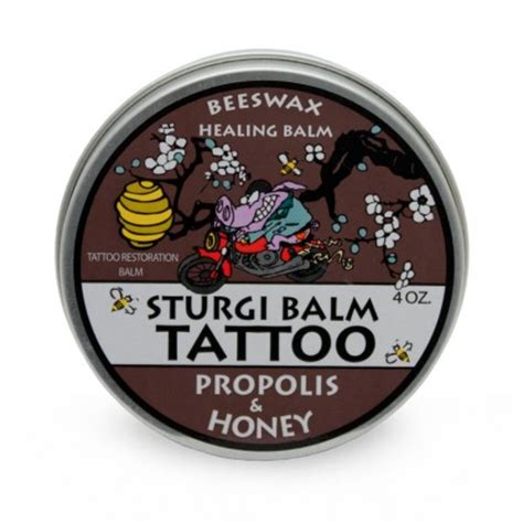 tattoo balm sturgi balm 1 oz single black honey farm