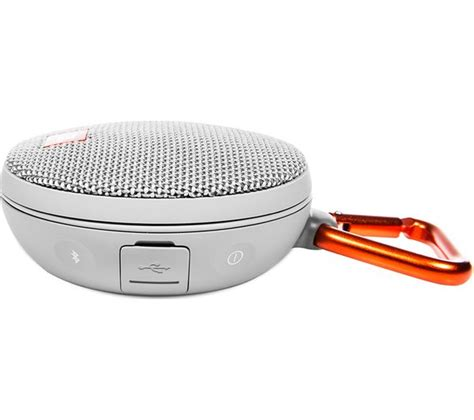 Jbl Clipwireless Portable Bluetooth Speaker jbl clip 2 portable bluetooth wireless speaker grey deals pc world