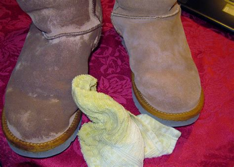 how to get water stains out of suede couch problem solving cleaning ugg boots minding my p s with q