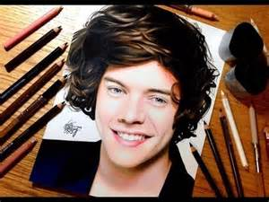 what color are harry styles drawing harry styles