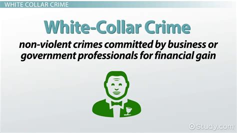 exle of white collar crime crime vs white collar crime definitions