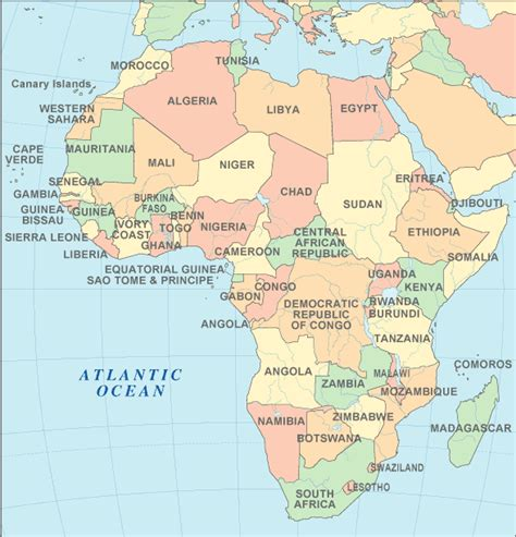 images of a africa map africa atlas africa map and geography