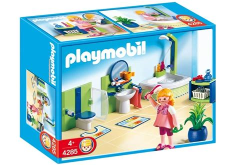 Playmobil Schlafzimmer 4284 by Playmobil Set 4285 Family Bathroom Klickypedia