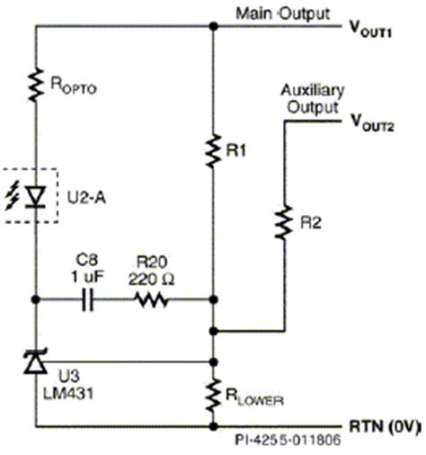 resistor divider & frequency compensation components