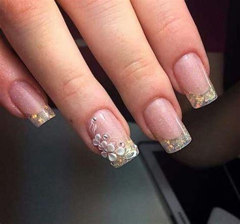 imagenes de uñas acrilicas transparentes u 241 as acrilicas sencillas pero elegantes