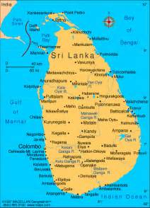 sri lanka map showing sri lanka beaches living out of a