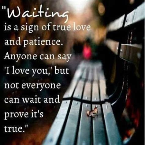 waiting   sign  true love quote amo