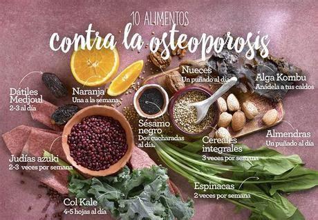 alimentos contra la osteoporosis alimentos ricos en calcio para prevenir o frenar la