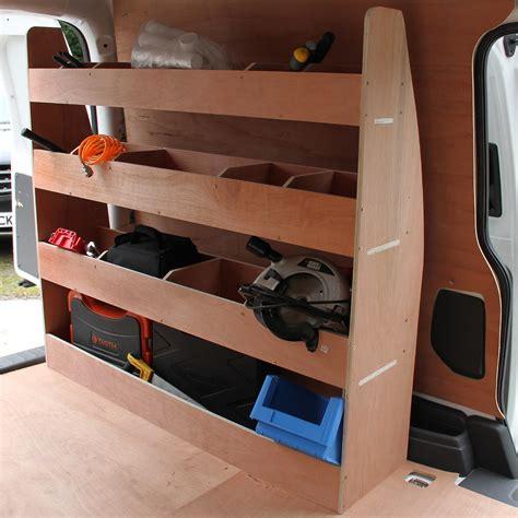 Tool Racks For Vans by Vw Caddy Swb Racking Plywood Tool Storage Shelves