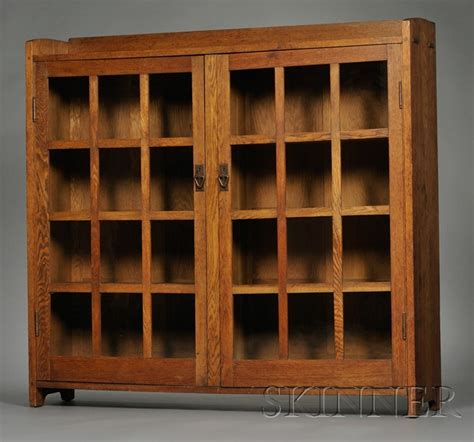 stickley bookcase for sale gustav stickley bookcase sale number 2552b lot number
