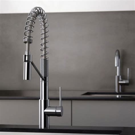 bar and faucet combo kraus kpf2630260041ch single handle commercial style pull