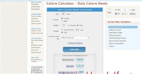kalkulator kalori seindah mimpiku kalkulator kalori jom guna