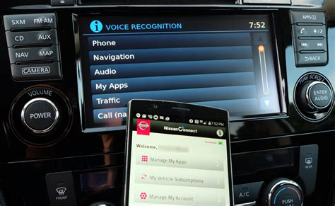review smartphones and the nissanconnect infotainment