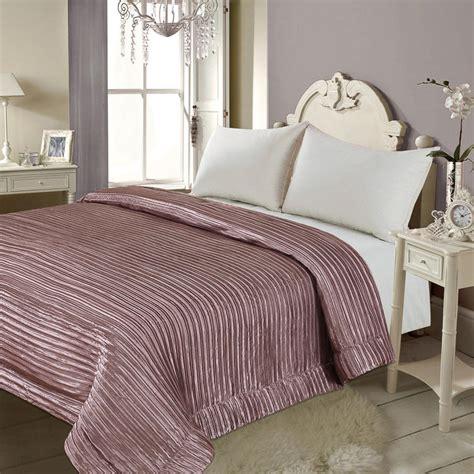 bm satin stripe bedspread bedding