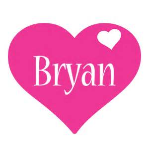 bryan logo name logo generator i love love heart