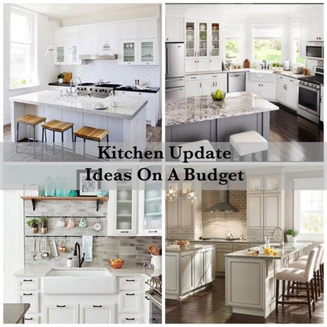 updating a kitchen on a small budget how to update your kitchen on a budget shabbyfufu