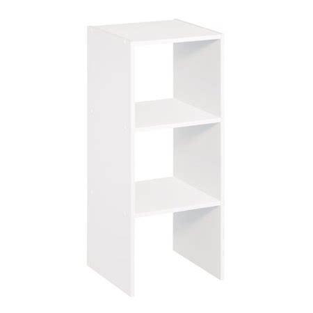 walmart white shelves closetmaid 3 shelf vertical stacker white 1011000 walmart