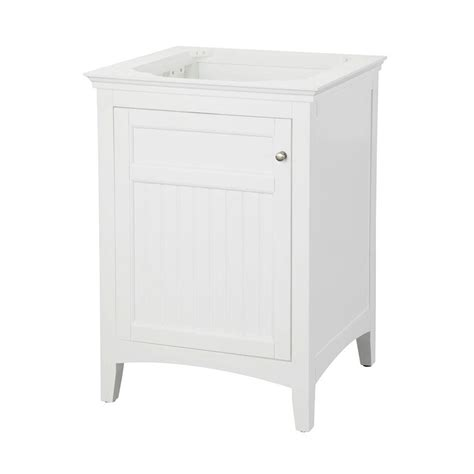 pegasus carrabelle 24 in vanity cabinet only in white
