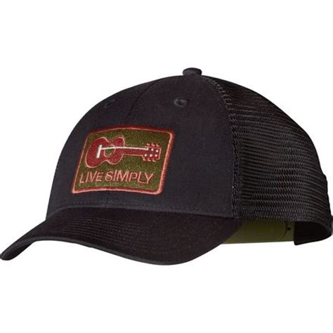 guitar hats caps patagonia live simply guitar lo pro trucker hat backcountry