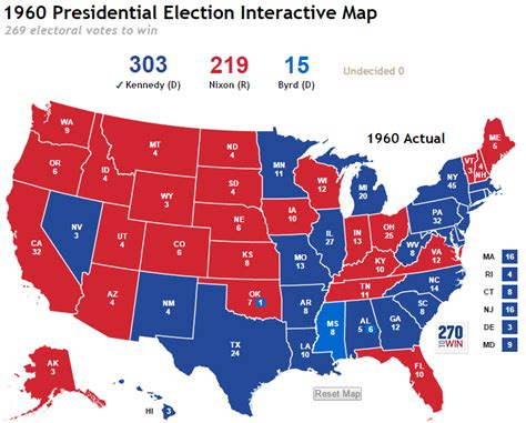 map us presidential election more historical interactive maps launched