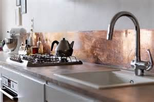 Copper Backsplash Kitchen by 27 Trendy And Chic Copper Kitchen Backsplashes Digsdigs