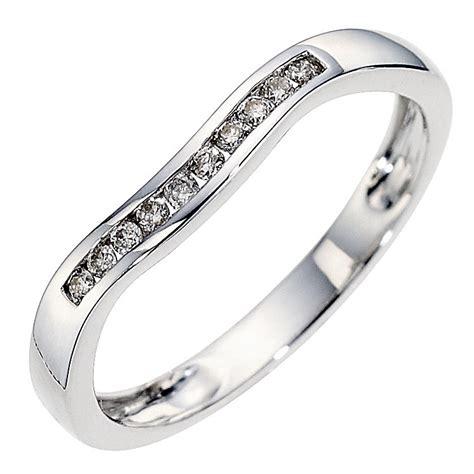 9ct white gold set wedding ring ernest jones