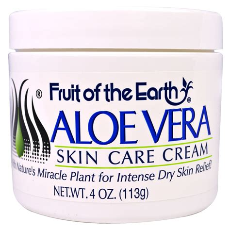 fruit of the earth aloe vera fruit of the earth aloe vera skin care 4 oz 113 g