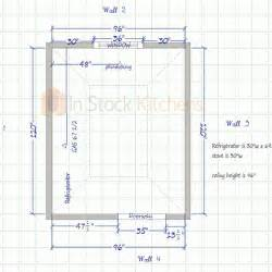 how to measure a kitchen for cabinets kitchen measurement and design instructions in stock